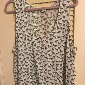 H&M tank size extra large